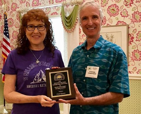 Carol's FNPS Award